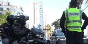 שוטרים תנועה צילום דוברות משטרת ישראל