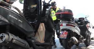 שוטר קטנוע צילום דוברות משטרת ישראל