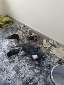 שריפה בדירה צילום דוברות כבאות והצלה