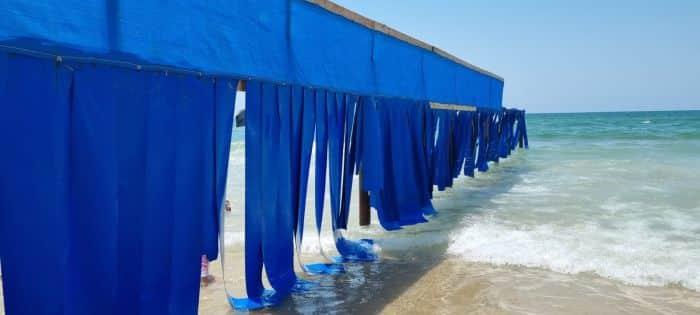 גדר ההפרדה בחוף הדתי