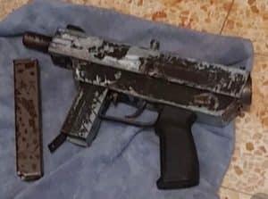 הנשק שנתפס- צילום דוברות משטרת ישראל