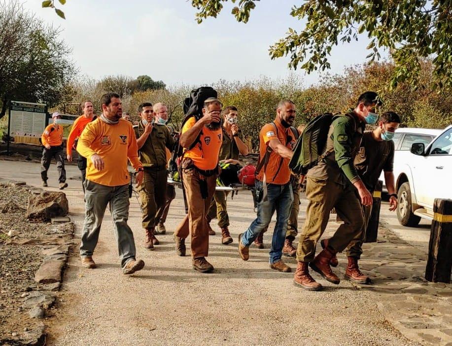חילוץ גולן צילום דוברות משטרת ישראל