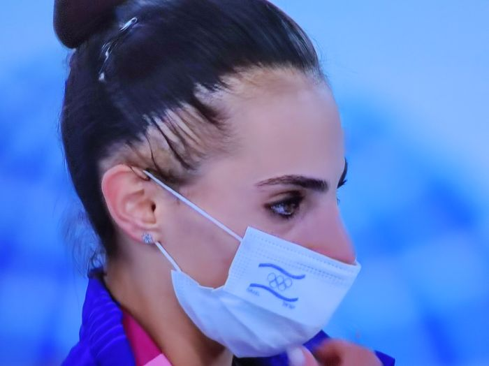 לינוי אשרם. צילום מסך ערוץ הספורט