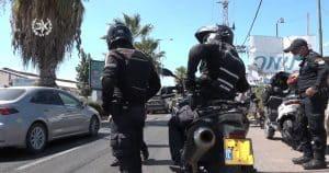 שוטרים אופנועים צילום דוברות משטרת ישראל
