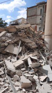 הריסות בניין קרס צילום דוברות כבאות והצלה