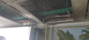 חשמל בניין שריפה צילום דוברות כבאות והצלה