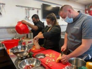 טבחים מטבח צילום דובר צהל