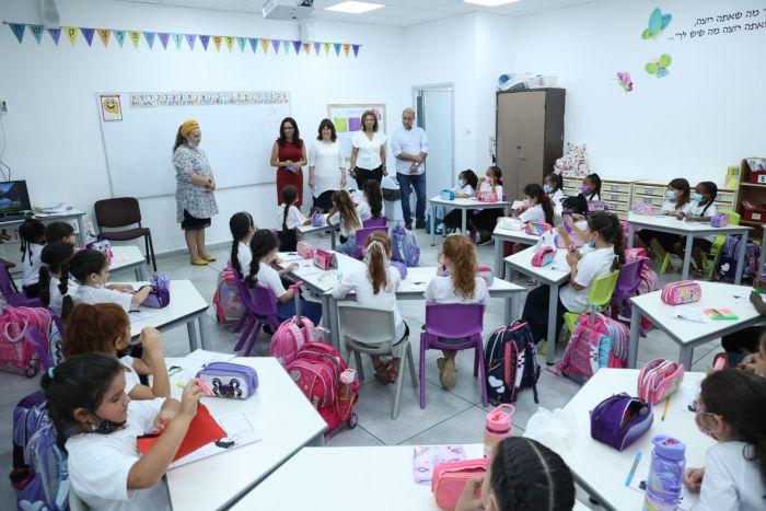 פתיחת שנת הלימודים באור יהודה. צילום: ישראל פנחסו