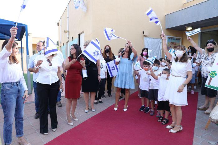 שנת הלימודים נפתחה באור יהודה. צילום: ישראל פנחסוב