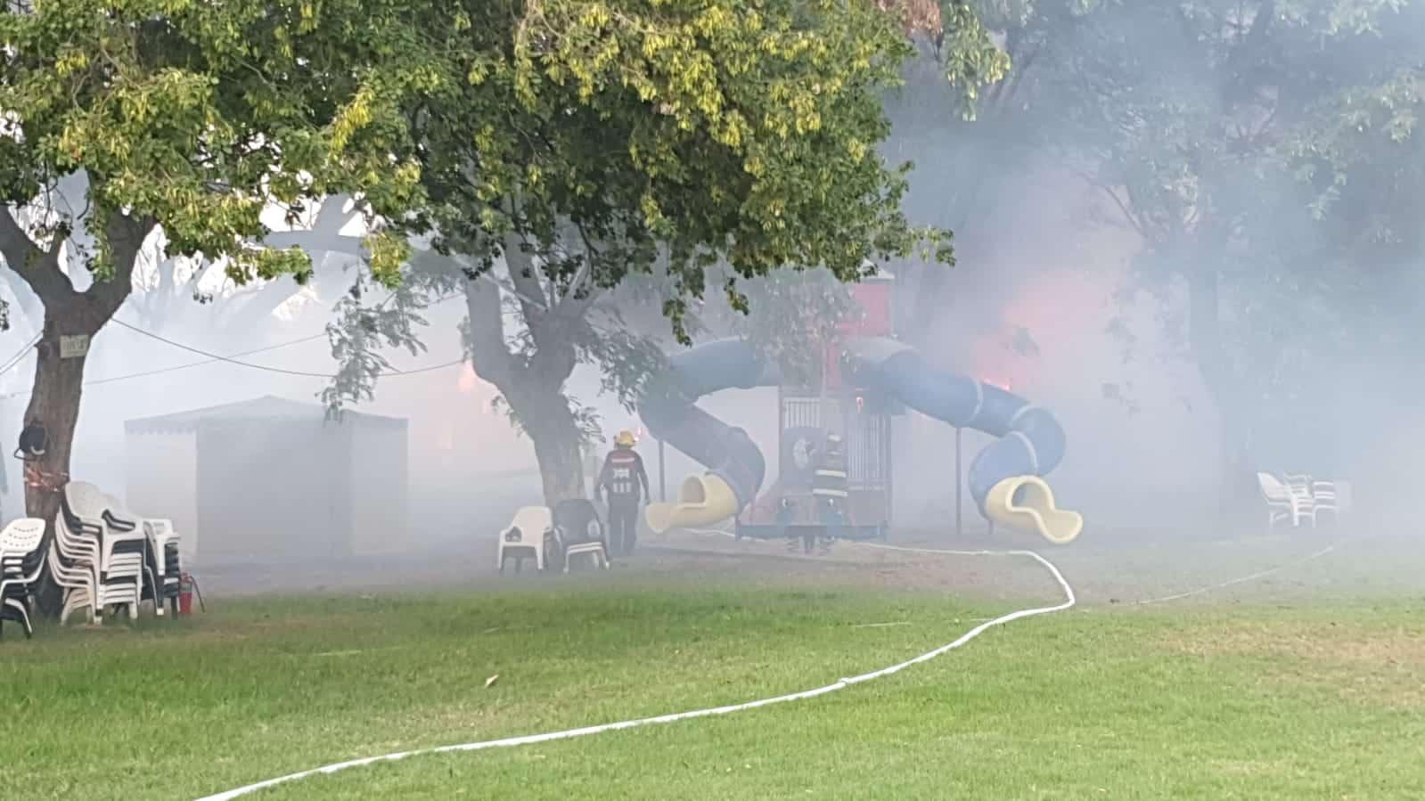 שריפה צילום דוברות כבאות והצלה
