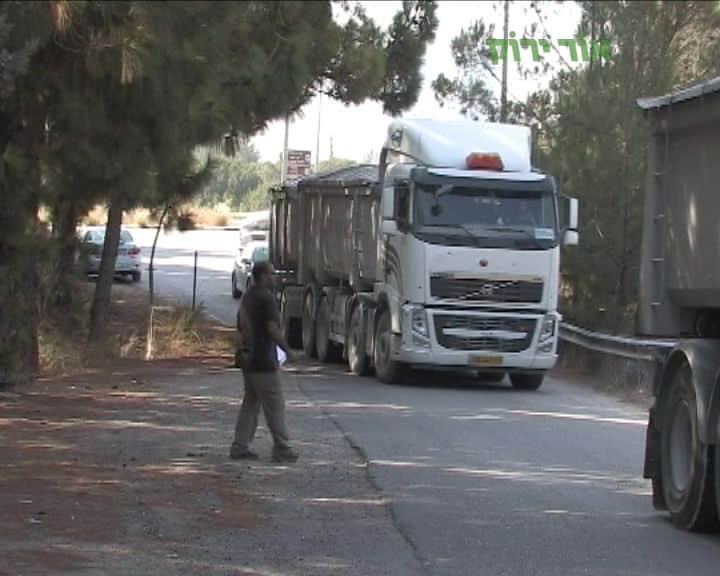 משאית2 צילום אור ירוק