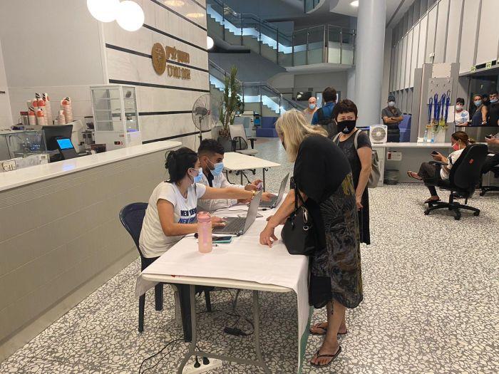 תחם חיסונים קודם בעירייה. צילום דוברות העירייה