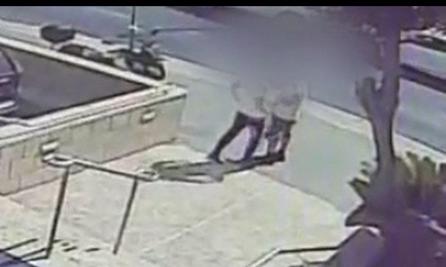 תקיפה צילום דוברות משטרת ישראל